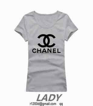 25EUR, t-shirt chanel femme gris,t-shirt femme de marque petit prix, 4e474f23b45