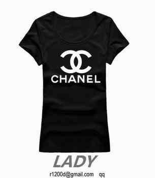 66bba4c342b t shirt chanel femme pas cher